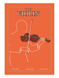 The Violin Väggdekal