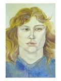 Sue Ellen Wall Decal by Norma Kramer