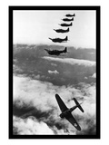 Douglas Dauntless Dive Bombers Wallstickers
