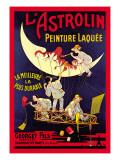 L'Astrolin Peinture Laquee Wallstickers af Eugene Oge