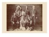 Buffalo Bill, Sitting Bull, and Others Decalcomania da muro