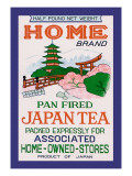 Home Brand Tea Wandtattoo