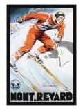 Mont. Revard Wallstickers af Paul Ordner