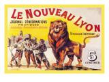 Le Nouveau Lyon Wallstickers af Eugene Oge