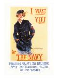 I Want You for the Navy Veggoverføringsbilde av Howard Chandler Christy