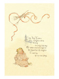 Little Polly Flinders Wall Decal by Maud Humphrey