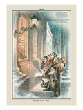 Puck Magazine: The Carol of the Waits Wall Decal by Joseph Keppler