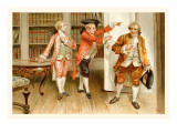 School for Scandal: Sent from the Library Wall Decal by Lucius Rossi
