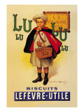 Lu Lu Biscuits Wall Decal by Firmin Etienne Bouisset