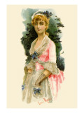 School for Scandal: Portrait Wall Decal by Lucius Rossi