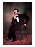 Abraham Lincoln Autocollant mural par George Peter Alexander Healy