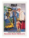 Cupid and E. A. Mele and Co. Wandtattoo von Aleardo Villa