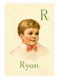 R for Ryan Wall Decal by Ida Waugh