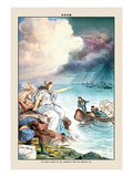Puck Magazine: The Great Floods of 1883 Wall Decal by Joseph Keppler