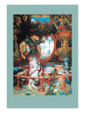 The Lady of Shalott Wall Decal by William Holman Hunt