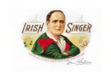 Irish Singer Cigars Wall Decal
