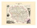 Creuse Wallstickers af Alexandre Vuillemin