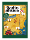 Radio Mechanics: How to Reduce Radio Squeals Decalcomania da muro
