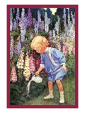 Fairy Gardens Autocollant mural par Jessie Willcox-Smith