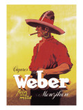 Weber Cigars Wall Decal