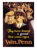 William Penn Cigars Wall Decal