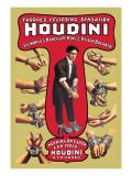 Houdini: The World's Handcuff King and Prison Breaker Vinilo decorativo