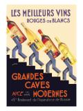 Les Meilleurs Vins Wallstickers