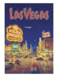 Las Vegas, Nevada Autocollant mural par Kerne Erickson