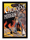 Masson: Chocolat Mexicain Wall Decal by Eugene Grasset