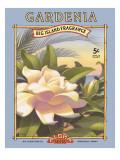 Gardenia Autocollant mural par Kerne Erickson