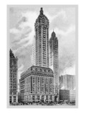 Singer Building, 1911 Wall Decal by Moses King