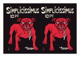 Simplicissimus Väggdekal av Thomas Theodor Heine