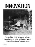 Innovazione Decalcomania da muro di Wilbur Pierce