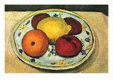 Still Life Fruit Väggdekal av Paula Modersohn-Becker