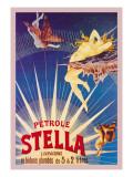 Petrole Stella Väggdekal av Henri Gray