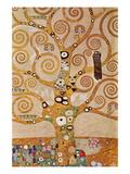 L'Arbre de vie, frise II Autocollant mural par Gustav Klimt