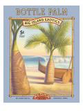 ボトルのような椰子 ウォールステッカー : カーン・エリクソン