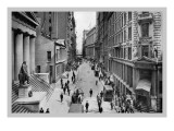 Wall Street, 1911 Wall Decal by Moses King