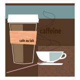 Caffeine Seinätarra
