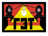 Get State Electro-Technical Trust Wall Decal by Vladimir Roskin