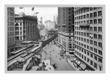 Looking Down Broadway Towards Herald Square, 1911 Wall Decal by Moses King