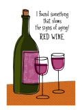 Red Wine Slows Aging Seinätarra