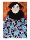 Johanna Staude Vinilo decorativo por Gustav Klimt