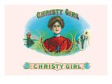 Christy Girl Cigars Veggoverføringsbilde av Howard Chandler Christy