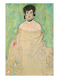 Portrait of Amalie Zuckerkandl Wallstickers af Gustav Klimt