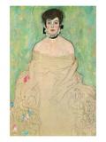 Portrait of Amalie Zuckerkandl Vinilo decorativo por Gustav Klimt