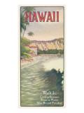 Waikiki Muursticker