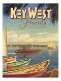 Key West Florida Wall Decal by Kerne Erickson