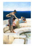 Silver Favorites Wallstickers af Sir Lawrence Alma-Tadema