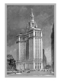 Municipal Building Wall Decal by Moses King